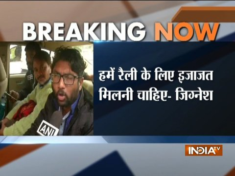 We were just going to demonstrate democratically and peacefully: Jignesh Mewani
