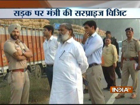 Haryana minister Anil Vij orders Rs. 2.5 lakh fine on overloaded trucks