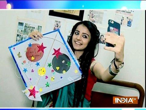 Watch how TV stars are enjoying kite-flying on Makar Sakranti