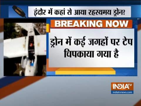 इंदौर में पुलिस को मिला ड्रोन, पुलिस कर रही है जांच