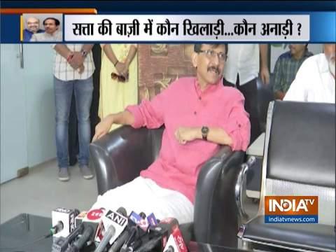 शिवसेना नेता संजय राउत ने भाजपा को जवाब दिया, कहा महाराष्ट्र में सीएम पद के लिए 50-50 की हुई थी डील