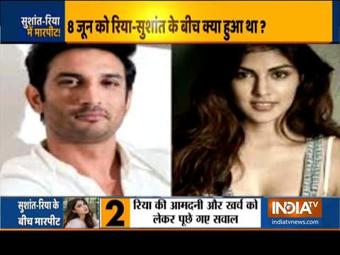 Did Sushant-Rhea had fights, assaulted each other before breakup?