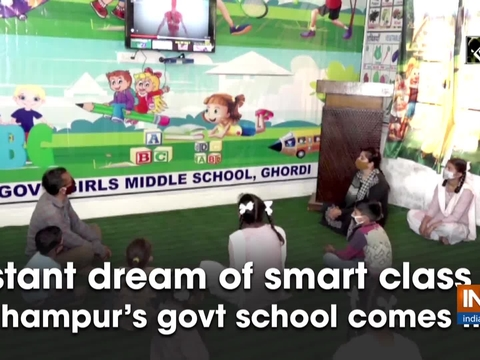 Distant dream of smart class for Udhampur's govt school comes true