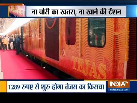 मुंबई-अहमदाबाद तेजस एक्सप्रेस को हरी झंडी, जानें इस ट्रेन का किराया, टाइमिंग, रूट एवं अन्य खास बातें