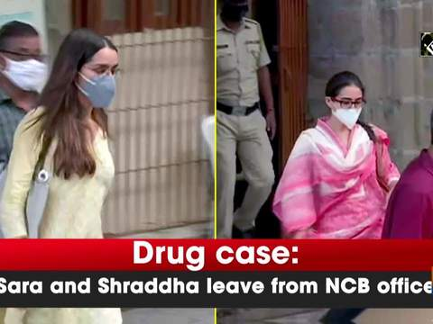 Drug case: Sara and Shraddha leave from NCB office