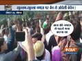 People protest against Noida Police order of banning namaz at public places