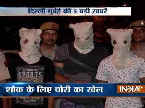 5 Khabarein Delhi Mumbai Ki | 29th July, 2017