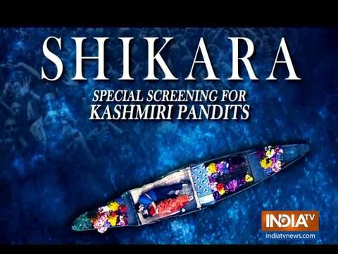 Special screening of Vidhu Vinod Chopra's film Shikara for Kashmiri Pandits in Mumbai