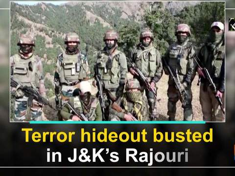 Terror hideout busted in JandK's Rajouri