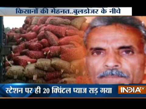MP: Debt-ridden farmer commits suicide as tons of onion left to rot in the market
