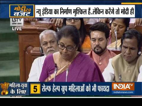 Budget 2019: All you want to know from FM Nirmala Sitharaman's maiden speech
