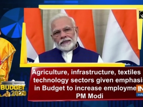 Agriculture, infrastructure and technology sectors given emphasis in Budget to increase employment: