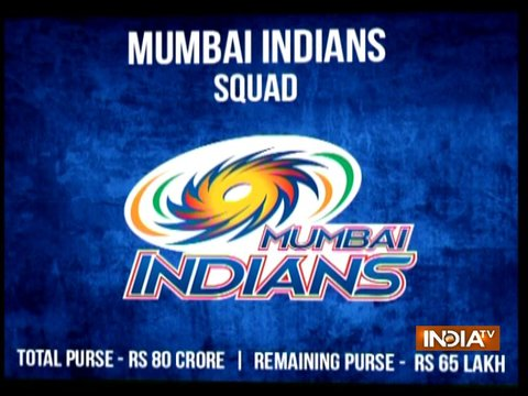 IPL 2018: Mumbai Indians Full Squad, Complete Team List