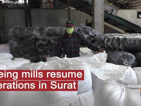 Dyeing mills resume operations in Surat