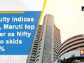 Equity indices fall, Maruti top loser as Nifty auto skids 2.8 percent