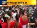 Priyanka Gandhi Vadra joins in 'Jhumur' dance of performers in Assam's Lakhimpur