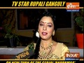 Popular TV actress Rupali Ganguly opens up about her role in 'Anupama.'