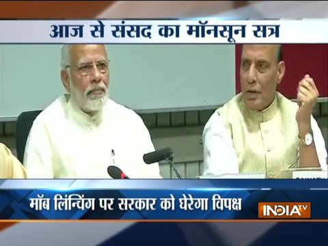 Monsoon Session of Parliament to begin today