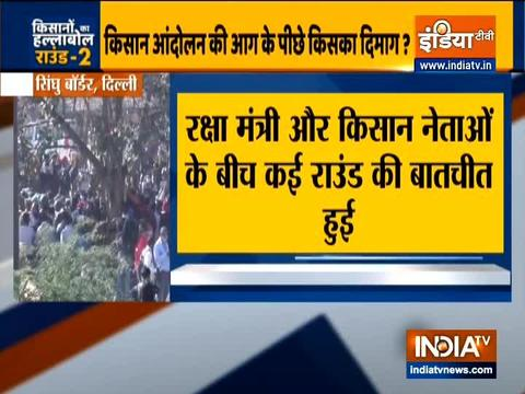 Farmers protest: Rajnath Singh reaches out to agitating farmers