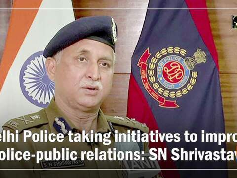 Delhi Police taking initiatives to improve police-public relations: SN Shrivastava