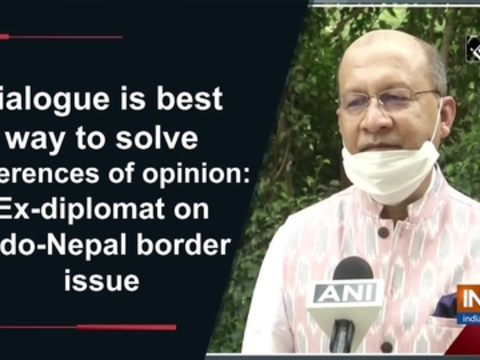 Dialogue is best way to solve differences of opinion: Ex-diplomat on Indo-Nepal border issue