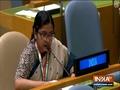 Vidisha Maitra, First Secretary MEA exercises India's right of reply to Pakistan PM Imran Khan's speech