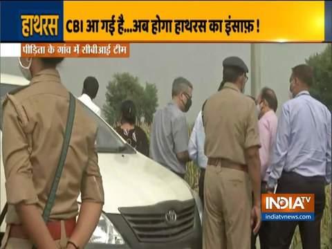 Hathras case: CBI team reaches crime spot