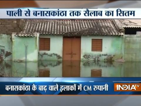 Gujarat Floods: Number Of Deaths Increases To 218, CM Rupani Visits Banaskantha