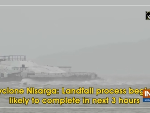 Cyclone Nisarga: Landfall process begins, likely to complete in next 3 hours
