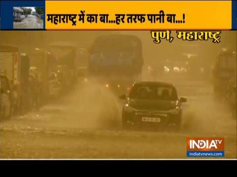 After Telangana, heavy rains lash Maharashtra