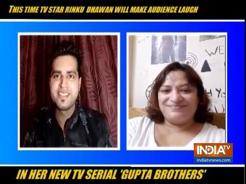 Rinku Dhawan gets candid about her new show Gupta Brothers