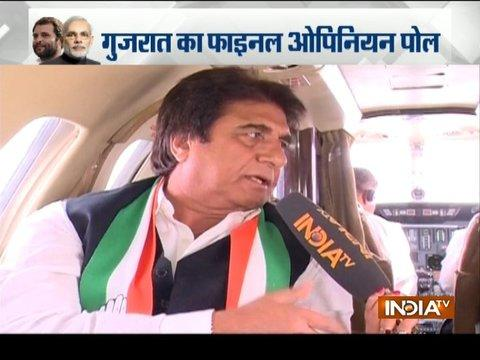 BJP always raises religious issues at the time of elections says Raj Babbar