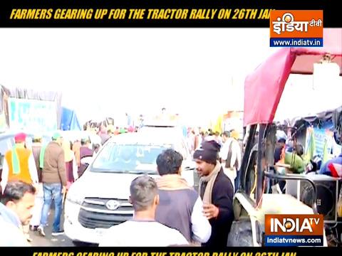 26 जनवरी गणतंत्र दिवस पर ट्रैक्टर रैली निकालने के लिए किसान संगठन पूरी तरह तैयार