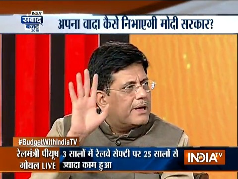 By the end of the year, each railway station will have a clean toilet: Piyush Goyal