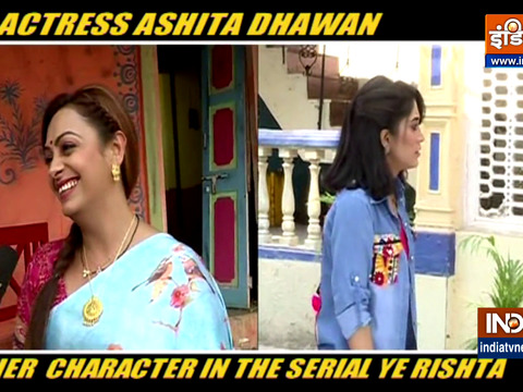Actress Ashita Dhawan on her role in Yeh Rishta Kya Kehlata Hai