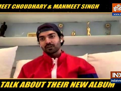 गुरमीत चौधरी और मनमीत सिंह ने अपने नए एल्बम के बारे में बात की