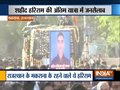 Sea of people gather in Rajasthan's Makrana to pay tribute to martyr Hariram Bhakar