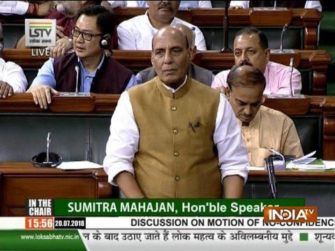 प्रधानमंत्री नरेंद्र मोदी की नीयत पर कोई सवाल नहीं उठा सकता: राजनाथ सिंह