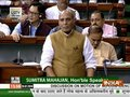 Rajnath Singh responds to Shashi Tharoor's 'Hindu Pakistan' remark in Lok Sabha
