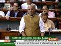 Rajnath Singh responds to Shashi Tharoor's 'Hindu Pakistan' remark in Lok Sabha