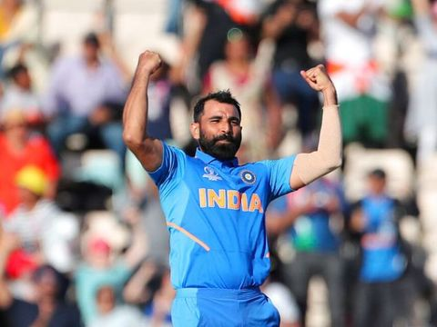 वर्ल्ड कप 2019: शमी की ऐतिहासिक हैट्रिक से भारत ने पूरा किया जीत का अर्धशतक, रोमांचक मुकाबले में अफगानिस्तान को हराया