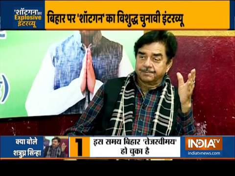 Bihar Assembly Polls 2020: Shatrughan Sinha attacks Modi, says PM has lost credibility