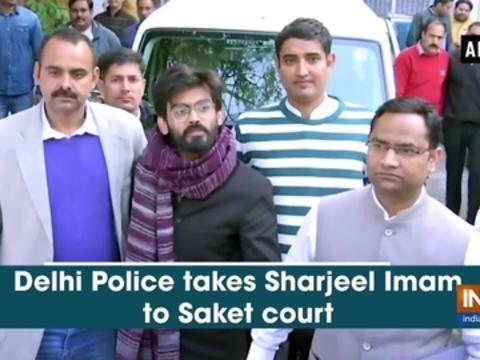 Delhi Police takes Sharjeel Imam to Saket court