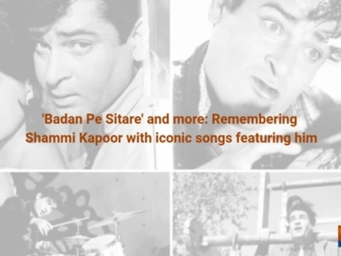 'Badan Pe Sitare' and more: Remembering Shammi Kapoor with iconic songs featuring him