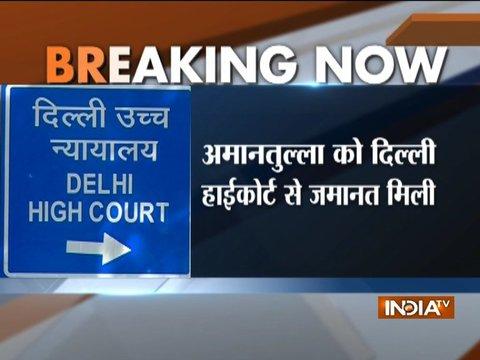 Delhi HC grants bail to Amanatullah Khan in chief secretary assault case