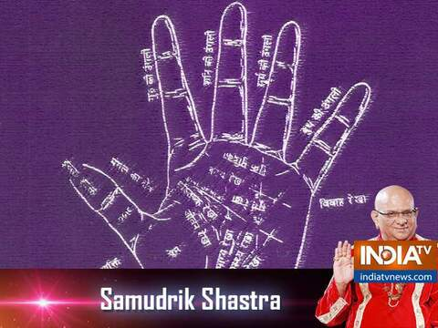 Samudrik Shastra: Know more about the mercury line on your forehead