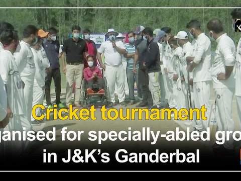 Cricket tournament organised for specially-abled group in Jammu and Kashmir's Ganderbal