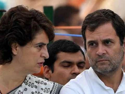 हाथरस मामले पर सोनिया गांधी और प्रियंका ने UP सरकार को घेरा,  DND पर कांग्रेस का विरोध प्रदर्शन