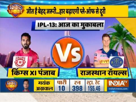 IPL 2020: Rajasthan Royals opt to bowl against Kings XI Punjab