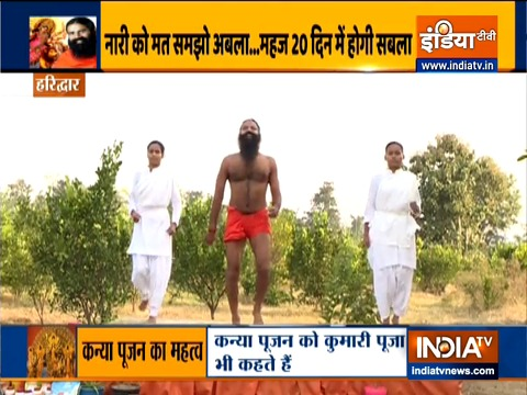Yogasanas and diet plan for women by Swami Ramdev